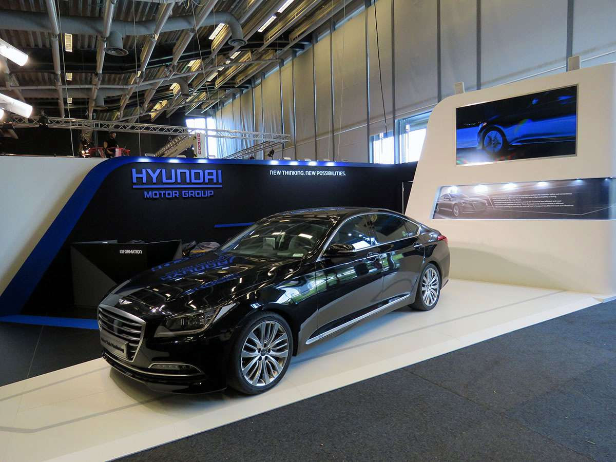 hyundai enhanced stand